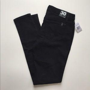 Joe's Jeans Skinny Mid-Rise Black Jeans